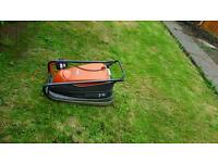 flymo lawnmower turbo compact 300 very powerful in excellent working condition can deliver