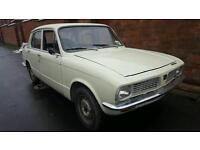 Triumph Toledo 1972 tax excempt running and driving needs TLC