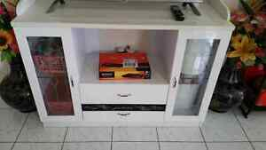 Tv cabinet stand white like new ~ 120cm x 85cm x 43cm Eight Mile Plains Brisbane South West Preview