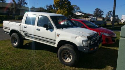 1994 toyota hilux sr5 Barnsley Lake Macquarie Area Preview