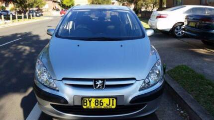 STATUTORY WRITE OFF  2002 Peugeot 307 Hatchback Condell Park Bankstown Area Preview