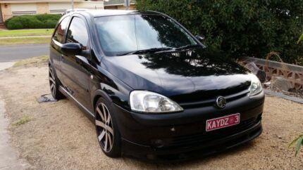 2002 SRi Holden Barina  Munno Para West Playford Area Preview