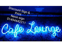 ****Neon Sign-Exhibition Sign**** Call Us Today-01494442211