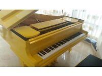 TESORO NERO - YELLOW BABY GRAND PIANO