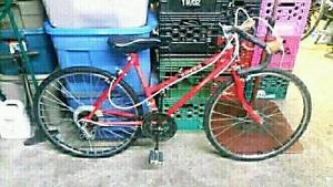 Vélo de course kia ranger 10 vitesses roues 24po