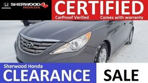2013 Hyundai Sonata GL | BLUETOOTH | HEATED SEATS | AC