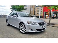 Silver Lexus Is 220d se Diesel Beige Leathers Sat Nav keyless go start/stop press button start