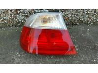 Bmw 3 series rear light