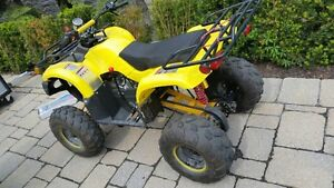 150cc ATV with reverse and 3 speed transmission