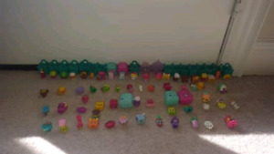 SHOPKINS OVER 80 PIECES EXCELLENT CONDITION KIDS TOYS CHRISTMAS