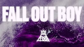 2 x Fall Out Boy Tickets - standing @ Arena Birmingham