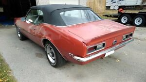1968 Chevy Camaro Convertible for Sale