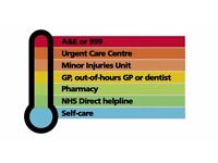Seeking participants to give their views about NHS urgent and emergency care services
