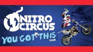 Nitro Circus Tikets  Sunday, Sept. 30, 6 pm  * Below Cost *