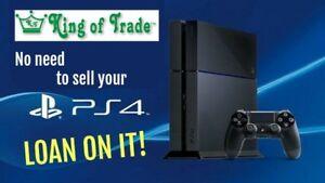 No need to sell your PS4 - Just LOAN on it!  King of Trade