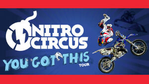 Looking For 4 Nitro circus tickets