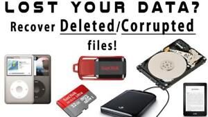 Data Recovery/ Computer/ Laptop/ Hard Drive/ MacBook/ Apple REPAIR!  INQUIRE NOW!