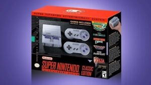 Snes Classic with box