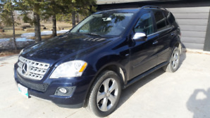 2010 MERCEDES BENZ ML 350 BLUETEC DIESEL 4 MATIC LIMITED EDITION
