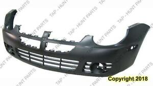 Bumper Front With Fog Light Hole Exclude Srt-4 CAPA Dodge SX 2.0 2003-2005