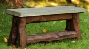 Solid Concrete Top Benches