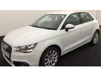 WHITE AUDI A1 1.0 1.2 1.4 T FSI SPORTBACK S LINE BLACK EDITION FROM £41 PER WEEK