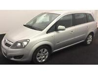 VAUXHALL ZAFIRA 1.8 120 EXCLUSIV 1.7 CDTI DESIGN ECOFLEX 1.6 FROM £31 PER WEEK