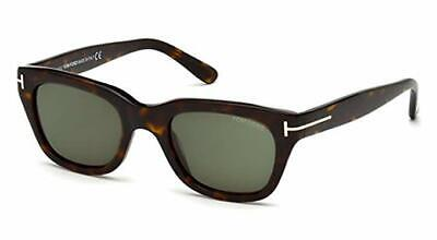 Tom Ford SNOWDON FT 0237 shiny dark havana/grey green (52N) Sunglasses (Tom Ford Sunglasses Snowdon)