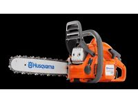 Husqvarna 435 chainsaw, brand new in the box ready to go