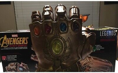 Marvel Legends Series Infinity Gauntlet Articulated Electronic Fist Last One