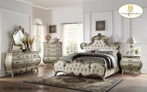 Traditional Queen 8 PC Bedroom Set (MA722)