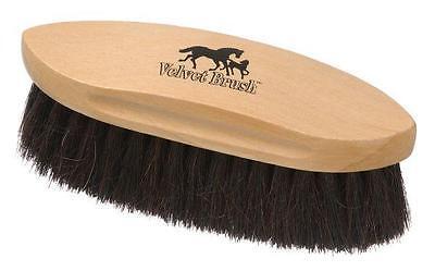 Pony Horse Grooming Dandy Flick Real HORSEHAIR
