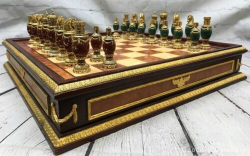 Rare House of Faberge Limited Edition The Imperial Jewelled Chess Set