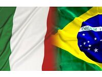 Portuguese, Italian lessons with qualified teacher