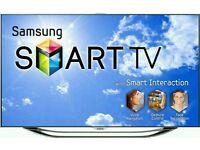 """Samsung 55"""" LED smart 3D wi-fi Ultra slim tv builtin USB media player HD freeview fullhd 1080p"""