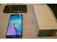 Samsung Galaxy S6 Edge 64 GB UNLOCKED to all network boxed with all accessories and FREE Case