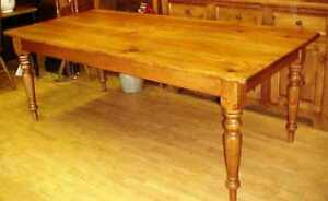 In Search Of a 5 foot  Pine Harvest Dining Table