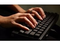 Experienced secretary offering home typing, collection & delivery competitive rates no job too small