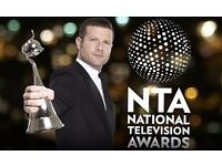 4 x Vip tickets on Wednesday 25 of January The National TV Awards at the O2 Arena