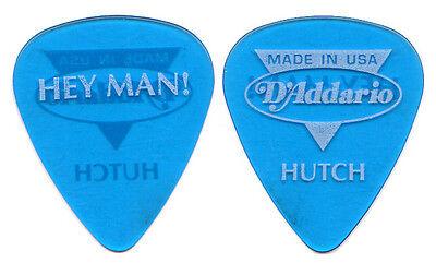 BONNIE RAITT Guitar Pick : 1990s Tour - Hey Man Hutch Hutchinson D'Addario blue