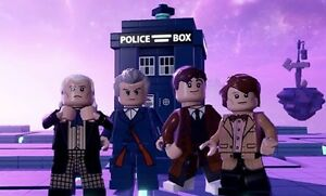 Lego Dimensions Doctor Who toy tag with 2 toy tags for Tardis and K-9 71204