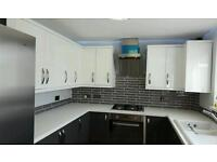Property maintenance person allbaspect of work taken damp courses kitchen bathroom fits