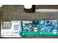 Job lot of 3 x Motherboards