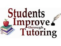 TUTORS AVAILABLE - English / chemistry / biology