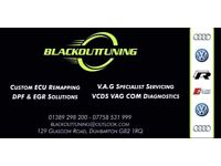 VW AUDI SPECIALIST SERVICING DUMBARTON - VCDS ENGINE REPAIR GARAGE REMAP