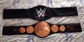 wwe edge & christian signed adult tag belt proof