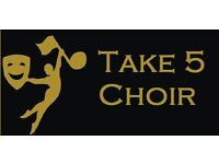Take 5 Community Choir- Looking for new members who love to sing!