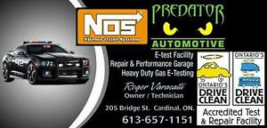 Emission Test and Repair at Predator Automotive !!