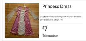 Princess Dress 3T-4T