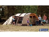 Outwell Newgate 6 Polycotton Tent in pristine condition